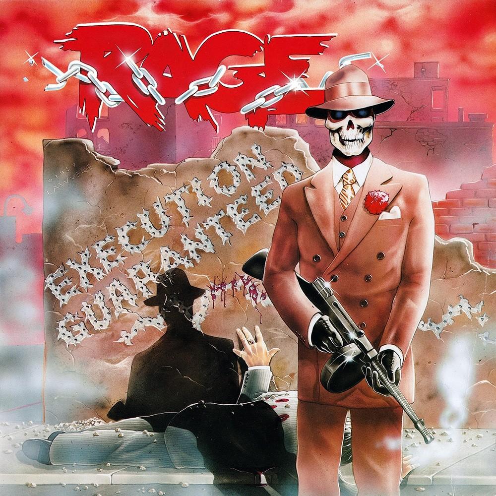 Rage - Execution Guaranteed (1987) Cover