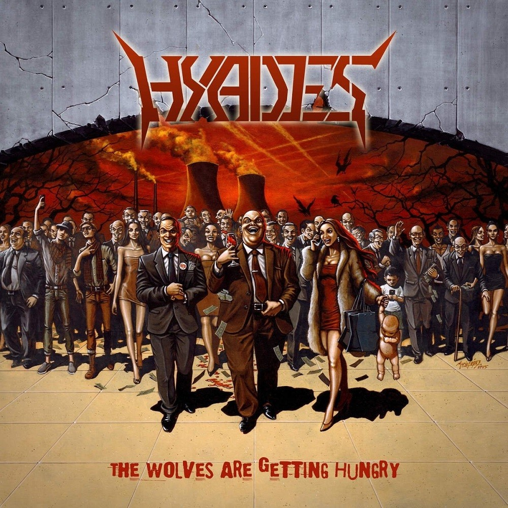 Hyades - The Wolves Are Getting Hungry (2015) Cover