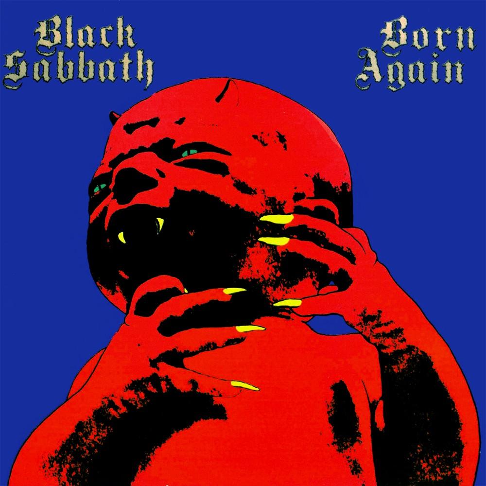 Black Sabbath - Born Again (1983) Cover