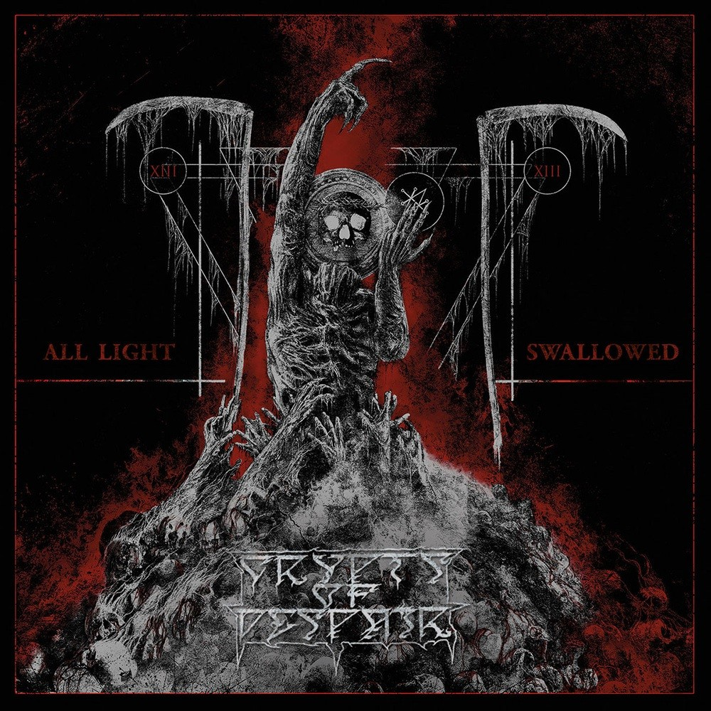Crypts of Despair - All Light Swallowed (2021) Cover