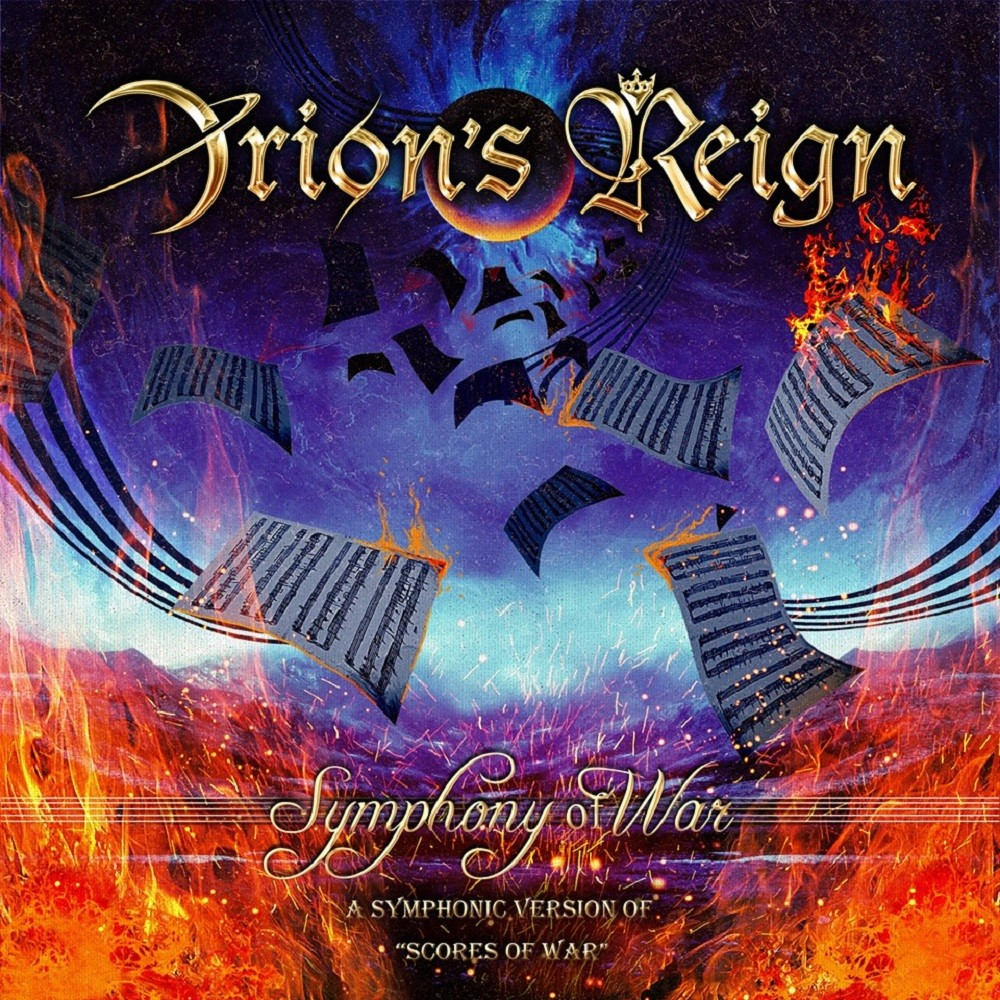 Orion's Reign - Symphony of War (2019) Cover