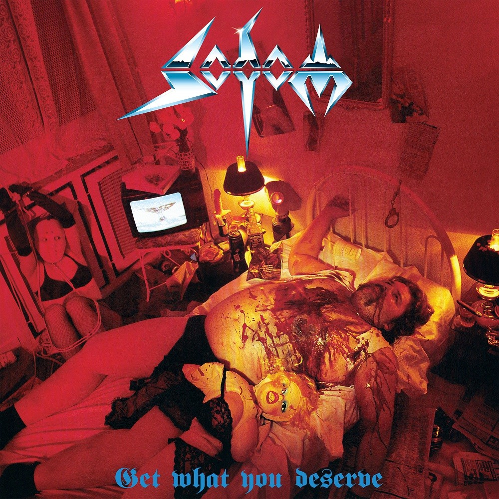 Sodom - Get What You Deserve (1994) Cover