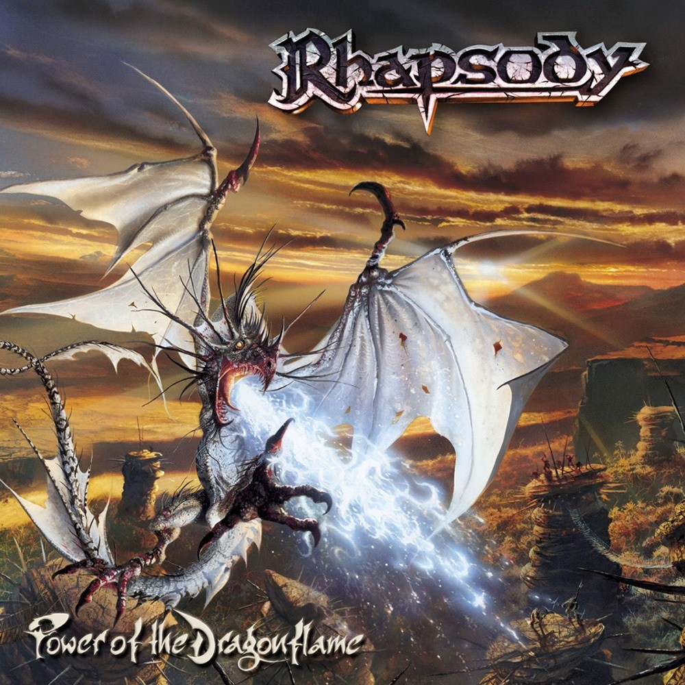 Rhapsody - Power of the Dragonflame (2002) Cover