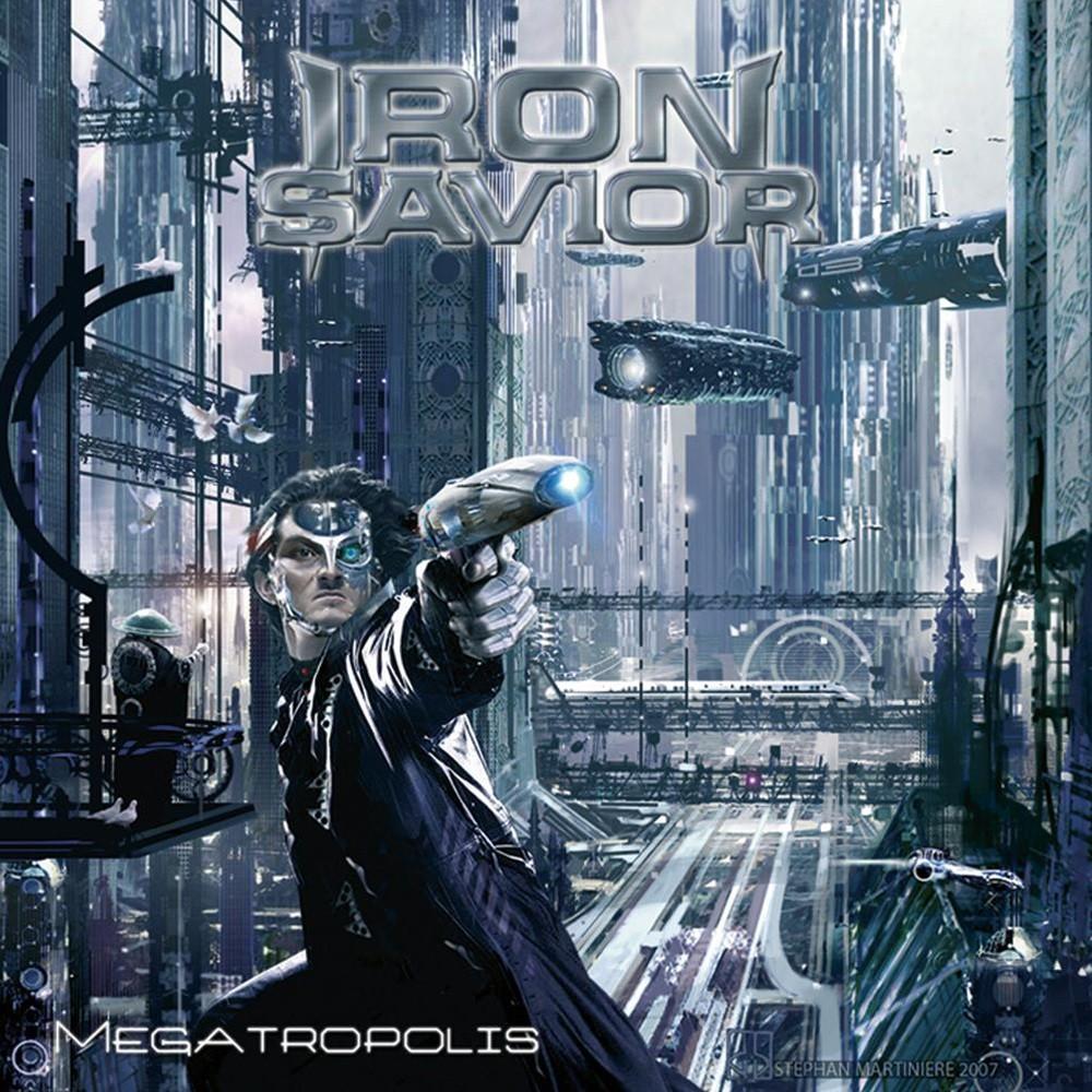 Iron Savior - Megatropolis (2007) Cover