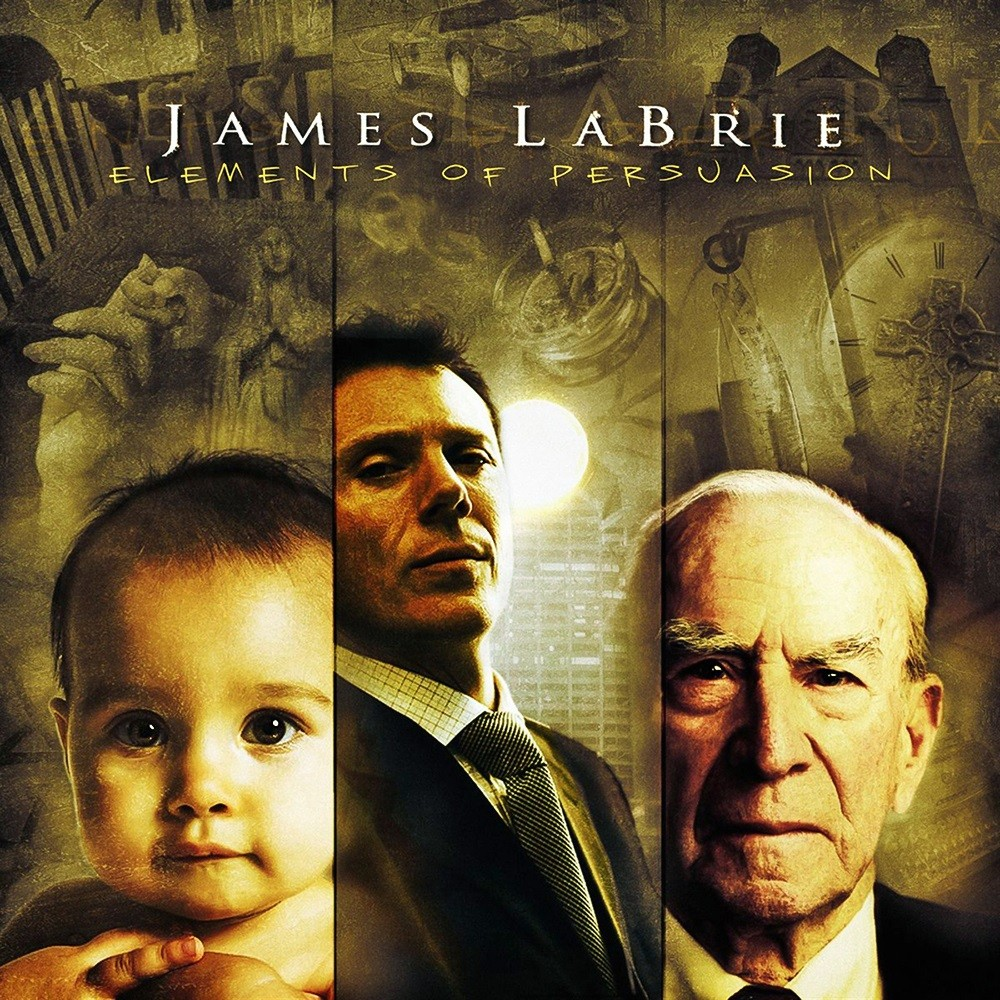 James LaBrie - Elements of Persuasion (2005) Cover