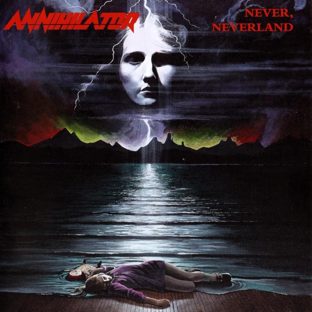 Annihilator - Never, Neverland (1990) Cover