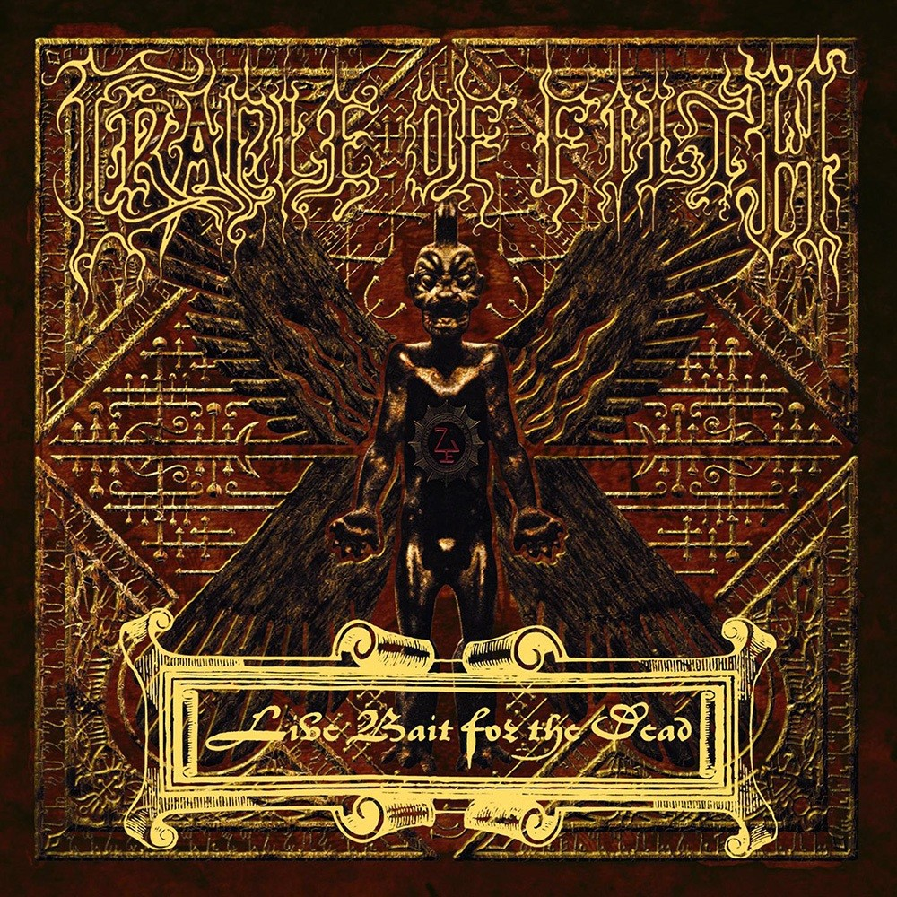 Cradle of Filth - Live Bait for the Dead (2002) Cover
