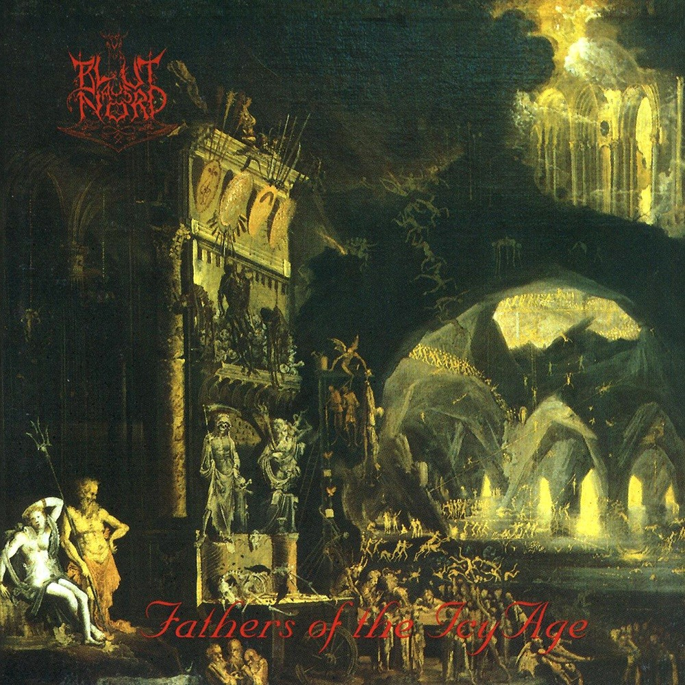 Blut aus Nord - Memoria Vetusta I: Fathers of the Icy Age (1996) Cover
