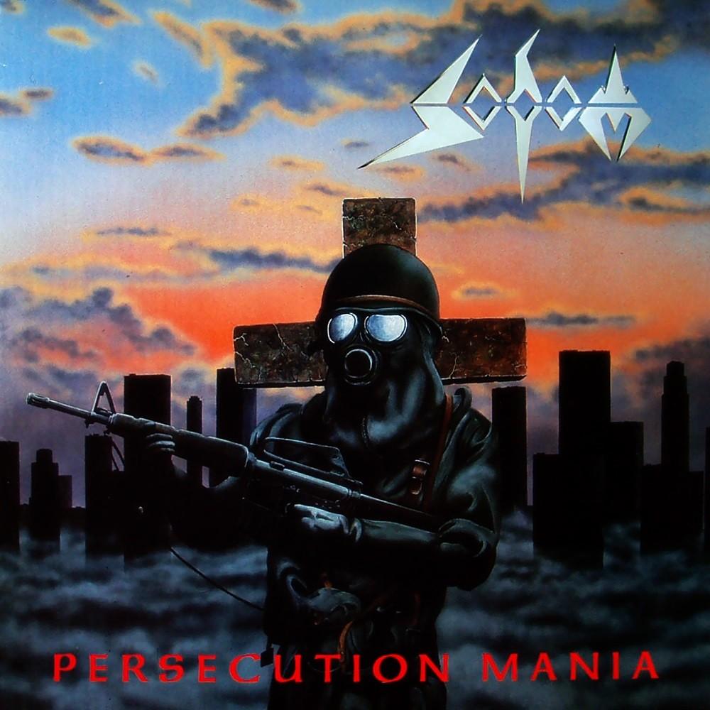 Sodom - Persecution Mania (1987) Cover