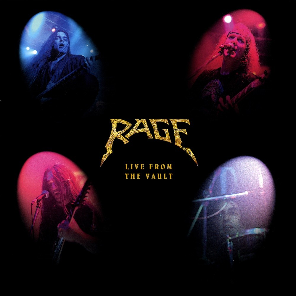 Rage - Live From the Vault (1997) Cover