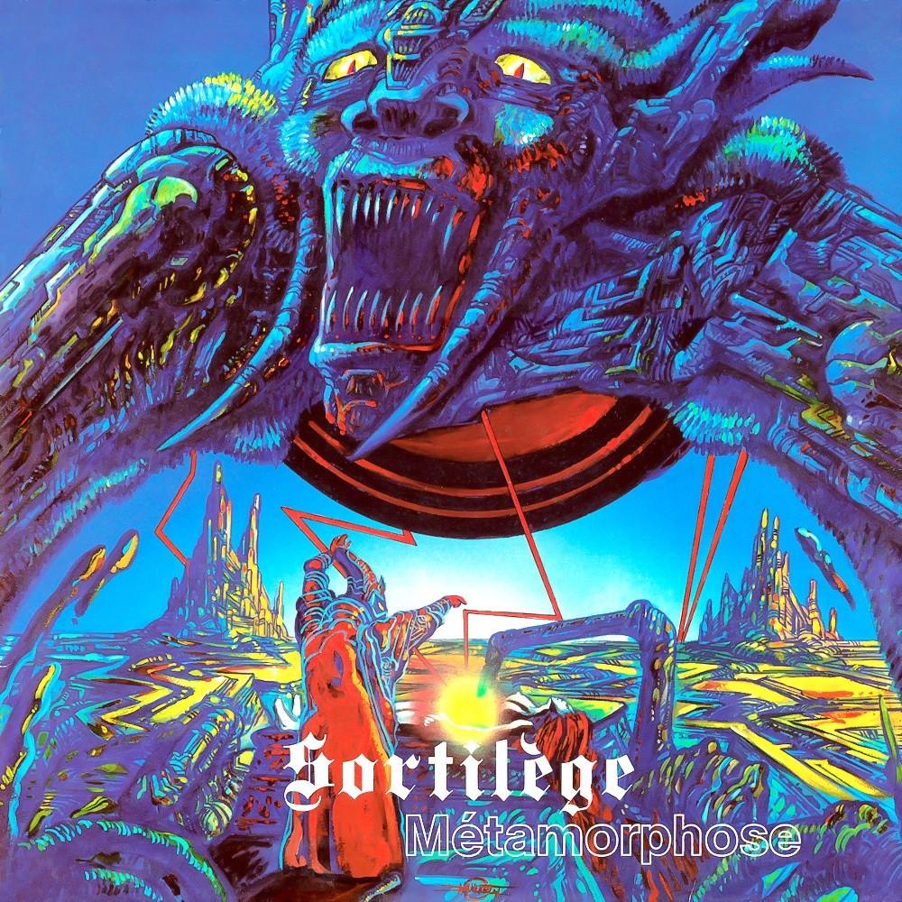 Sortilège - Métamorphose (1984) Cover