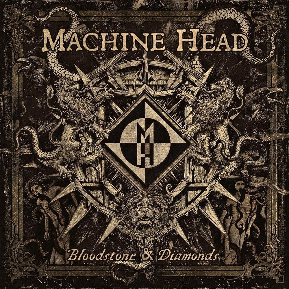 Machine Head - Bloodstone & Diamonds (2014) Cover