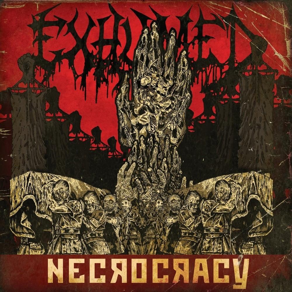 Exhumed - Necrocracy (2013) Cover