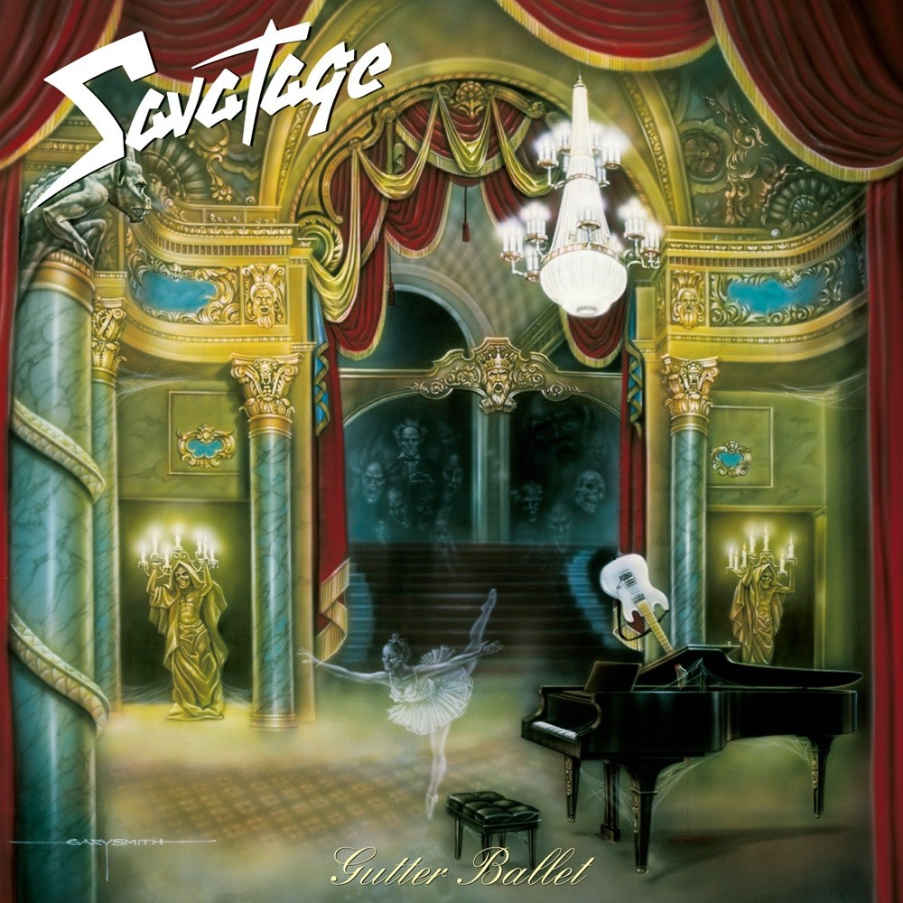 Savatage - Gutter Ballet (1989) Cover
