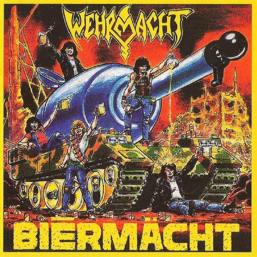 Wehrmacht - Biermächt (1989) Cover