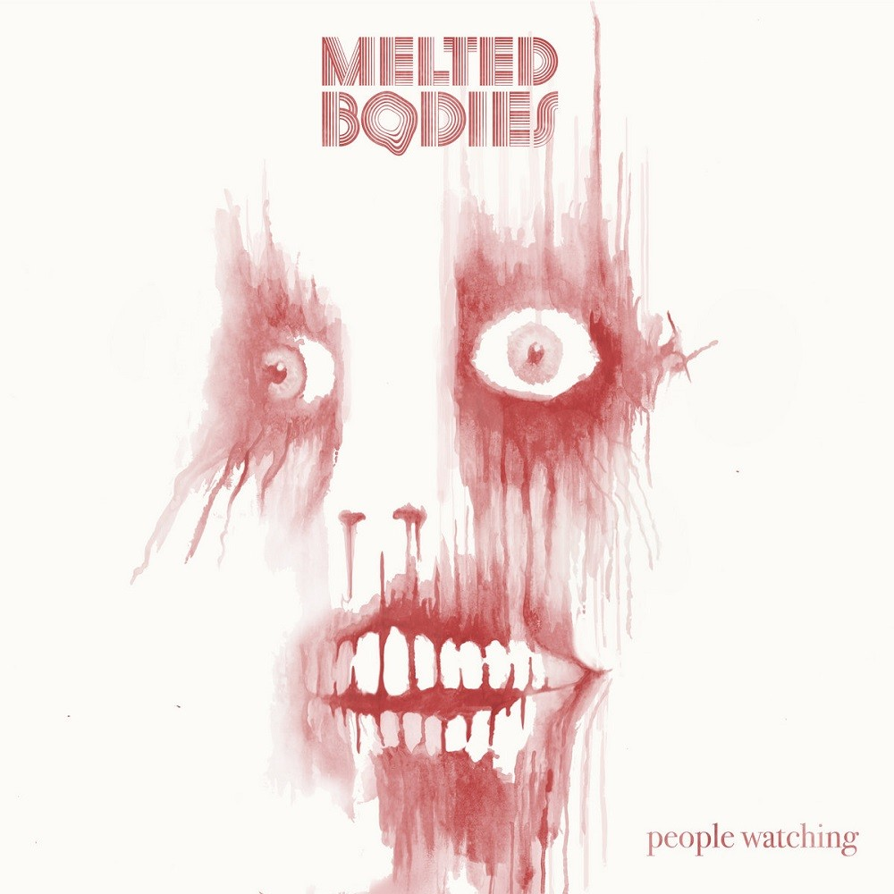 Melted Bodies - People Watching (2019) Cover