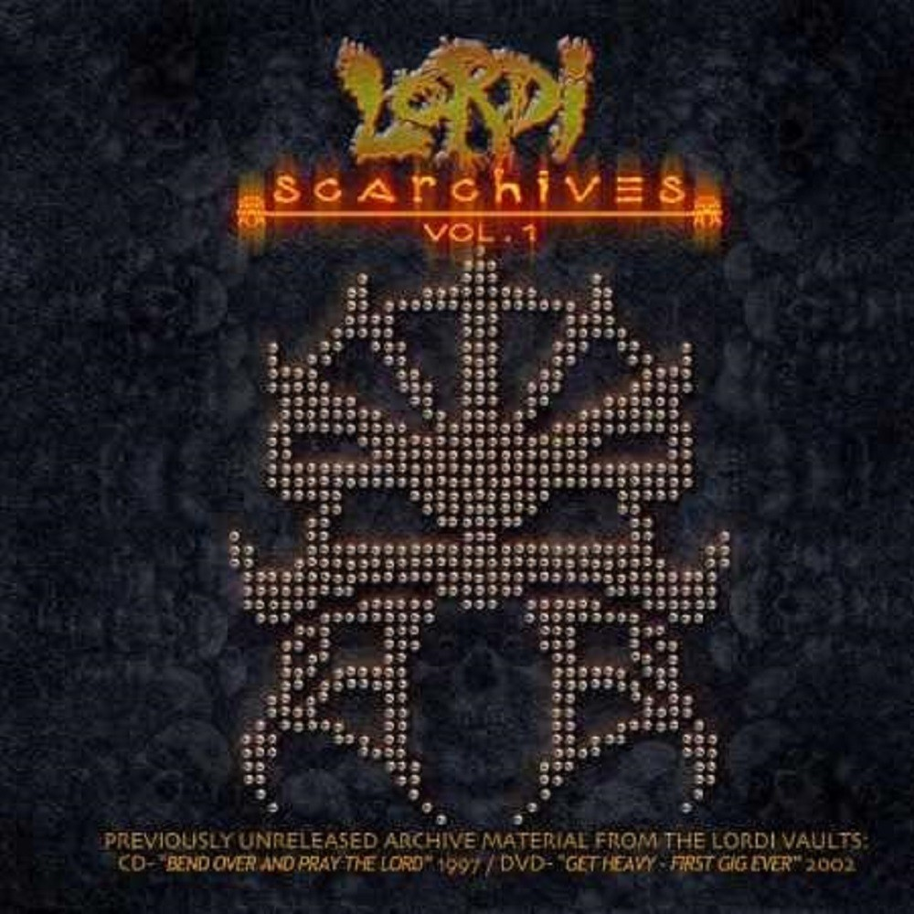 Lordi - Scarchives Vol. 1 (2012) Cover