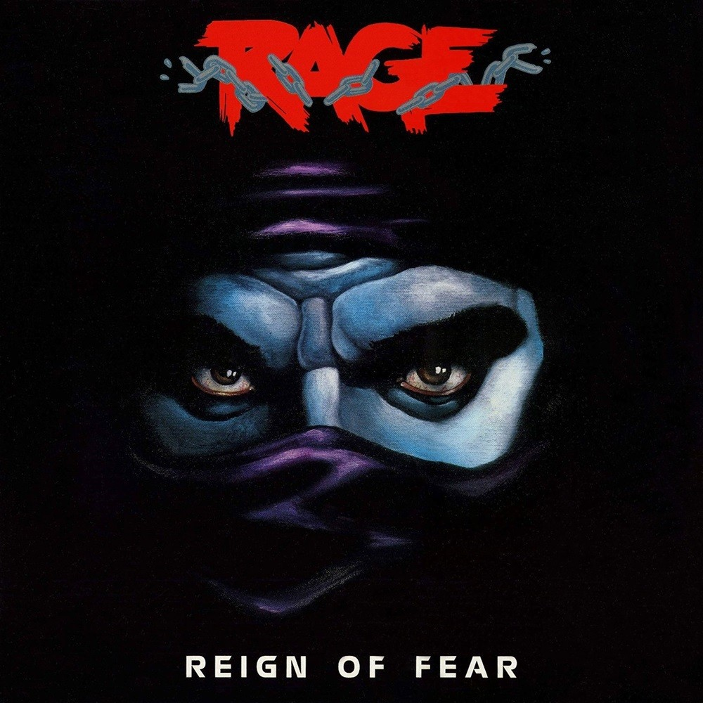 Rage - Reign of Fear (1986) Cover