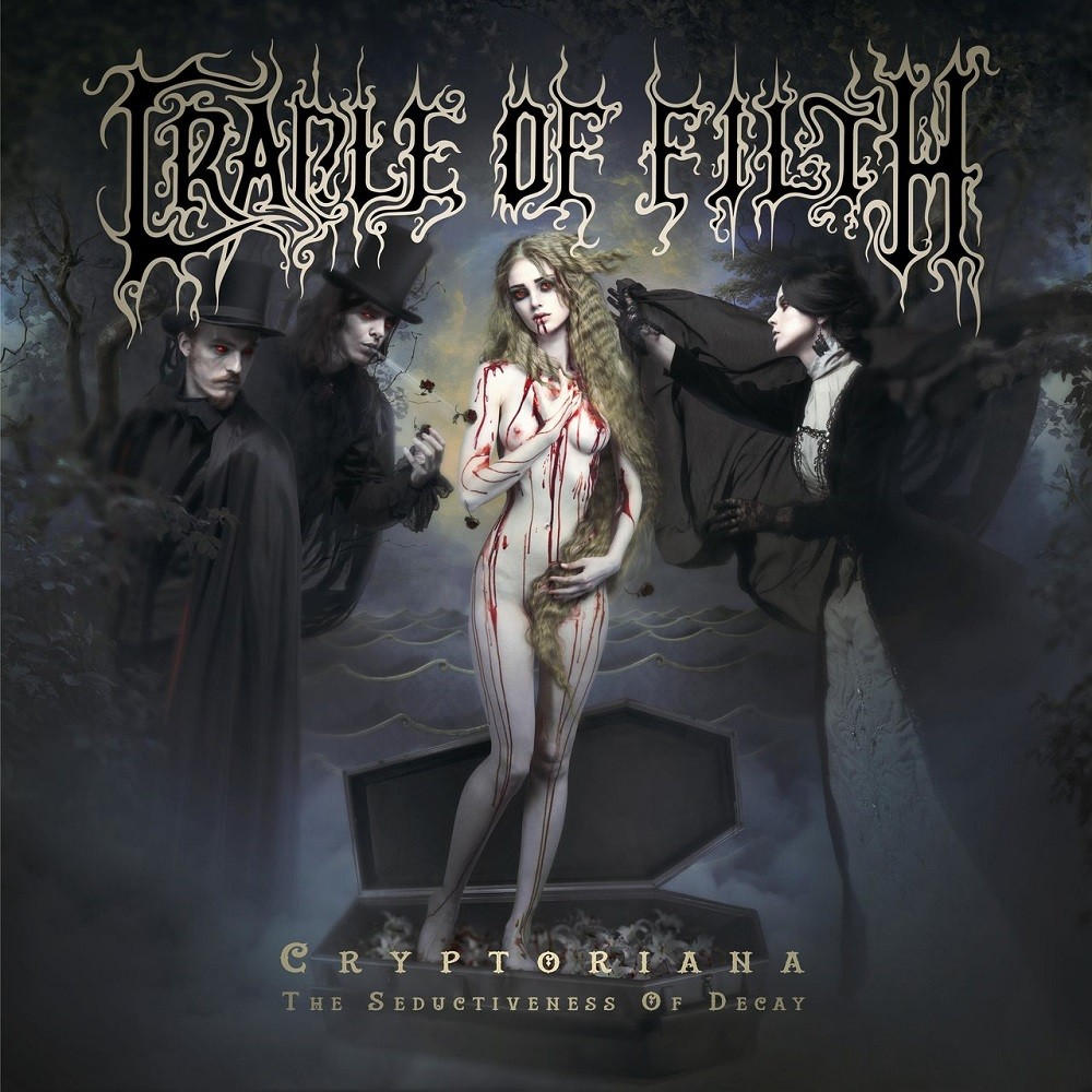 Cradle of Filth - Cryptoriana: The Seductiveness of Decay (2017) Cover