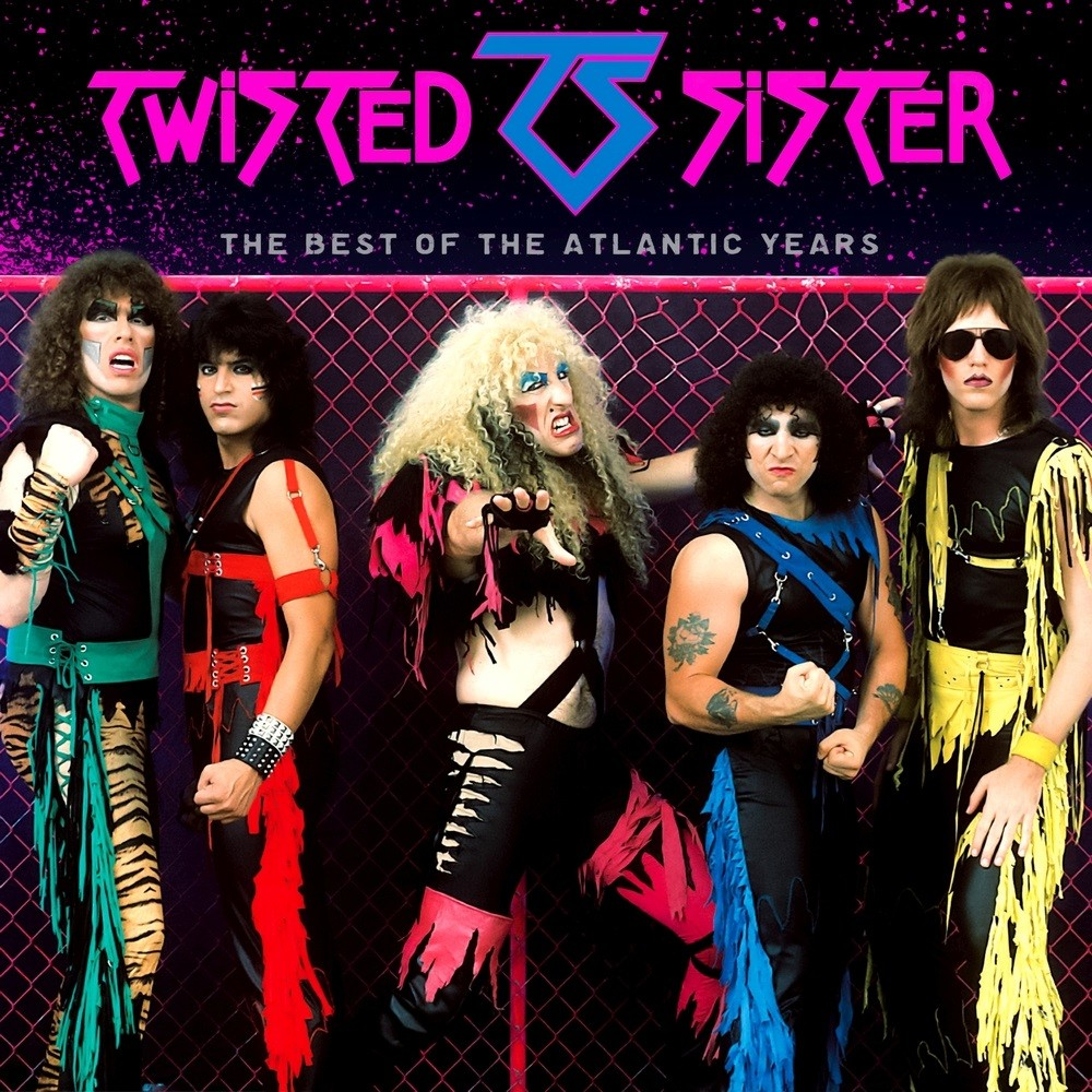 Twisted Sister - The Best of the Atlantic Years (2016) Cover