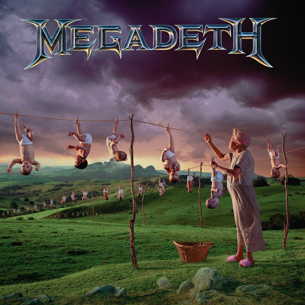 Megadeth - Youthanasia (1994) Cover
