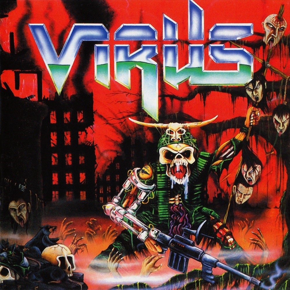 Virus - Force Recon (1988) Cover
