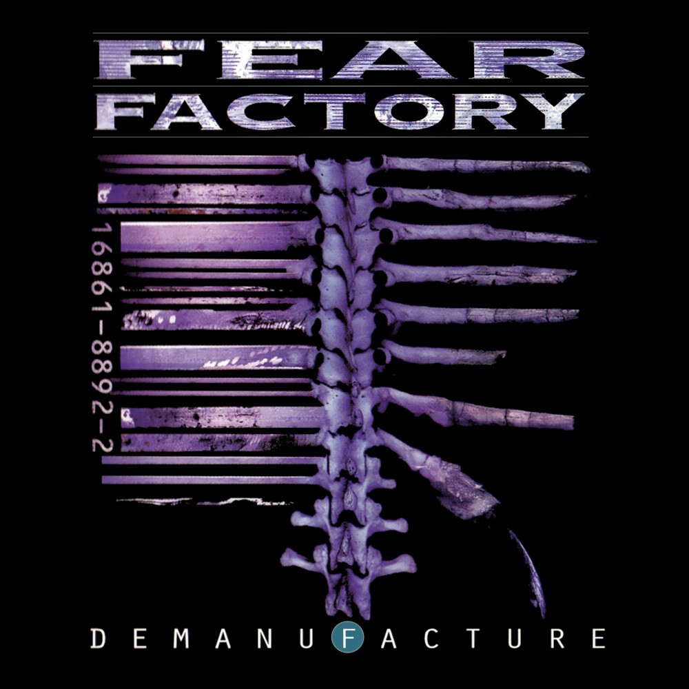 Fear Factory - Demanufacture (1995) Cover