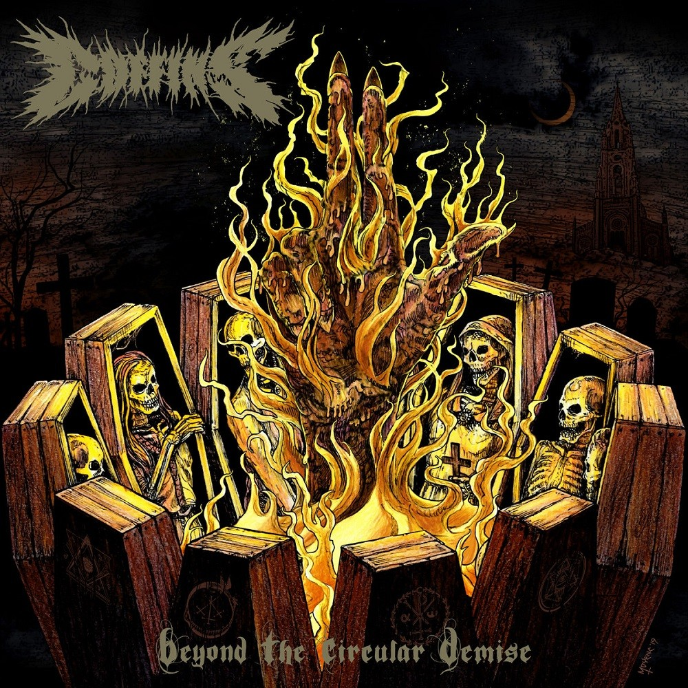 Coffins - Beyond the Circular Demise (2019) Cover