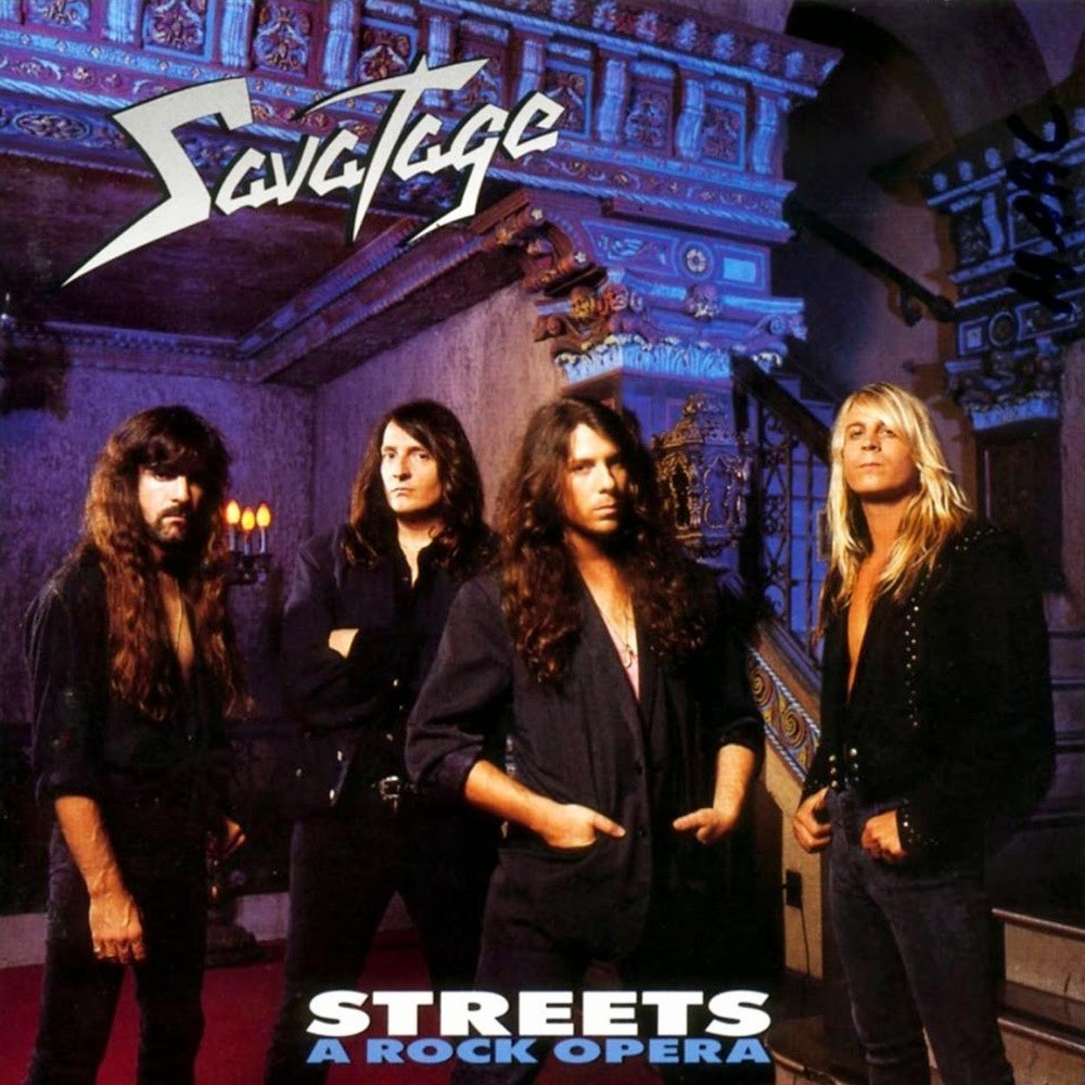 Savatage - Streets: A Rock Opera (1991) Cover