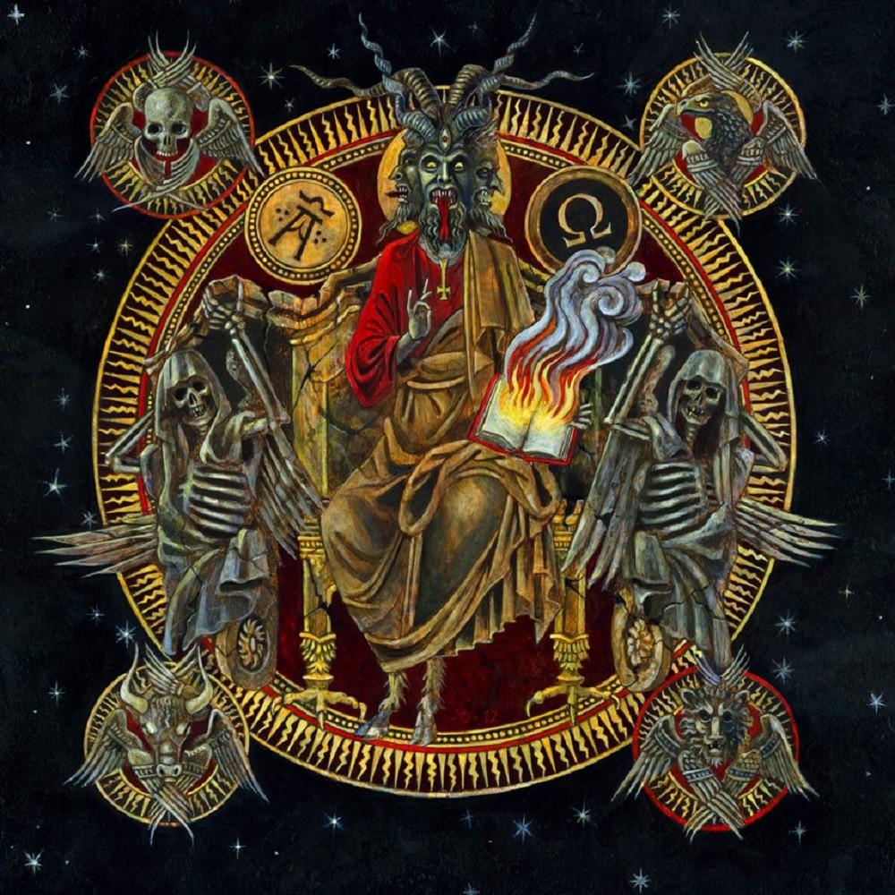 Deiphago - Satan Alpha Omega (2012) Cover