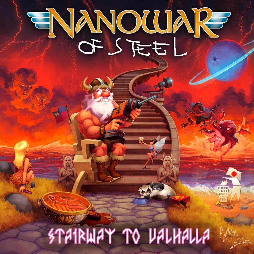 Nanowar of Steel - Stairway to Valhalla (2018) Cover