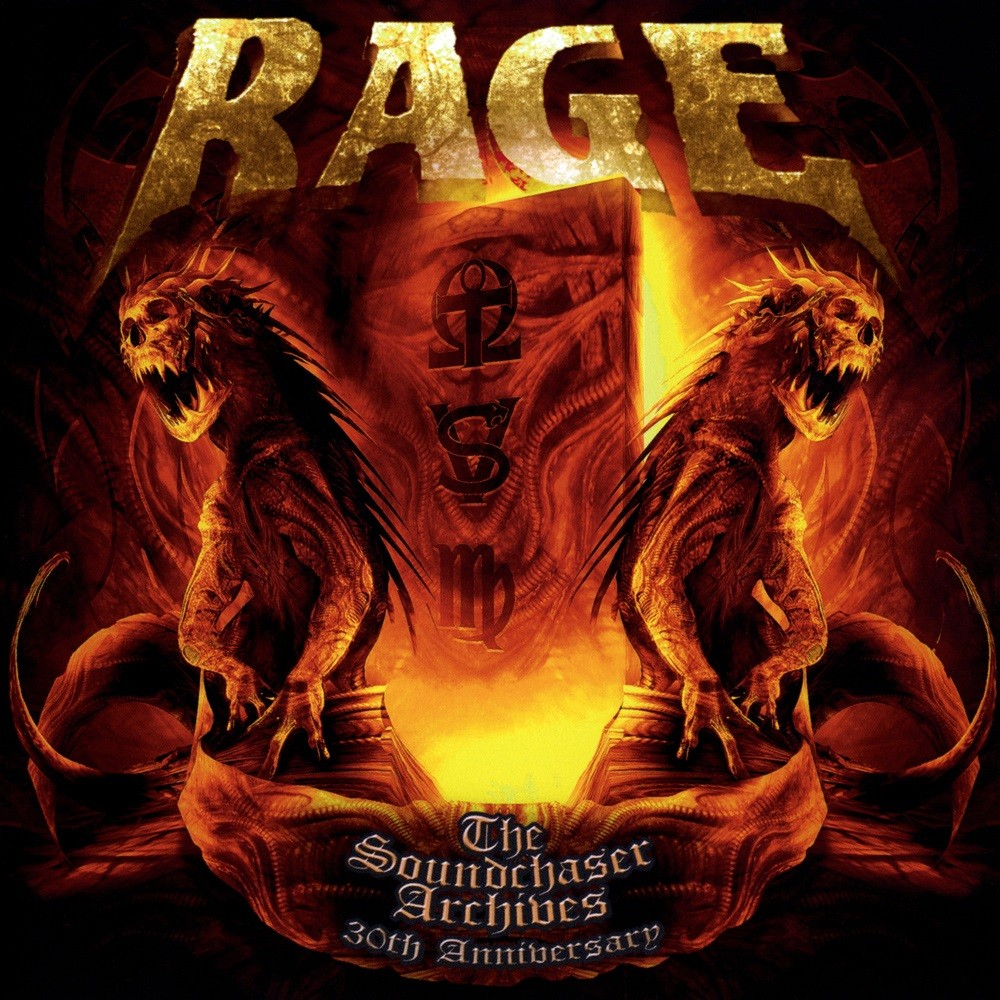 Rage - The Soundchaser Archives (2014) Cover
