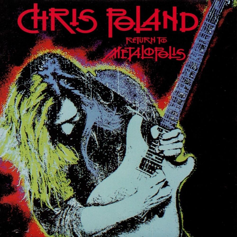 Chris Poland - Return to Metalopolis (1990) Cover