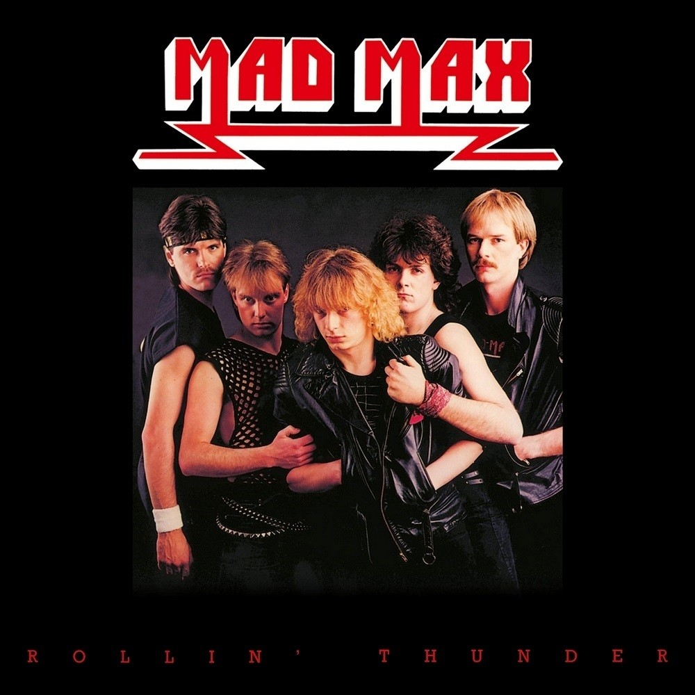Mad Max - Rollin' Thunder (1984) Cover