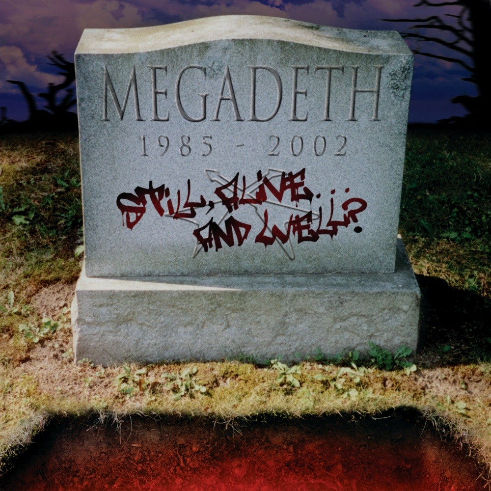 Megadeth - Still Alive... and Well? (2002) Cover