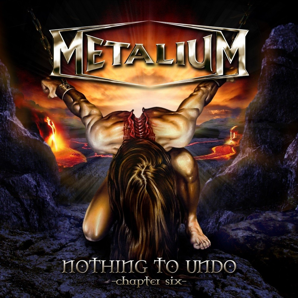 Metalium - Nothing to Undo: Chapter Six (2007) Cover