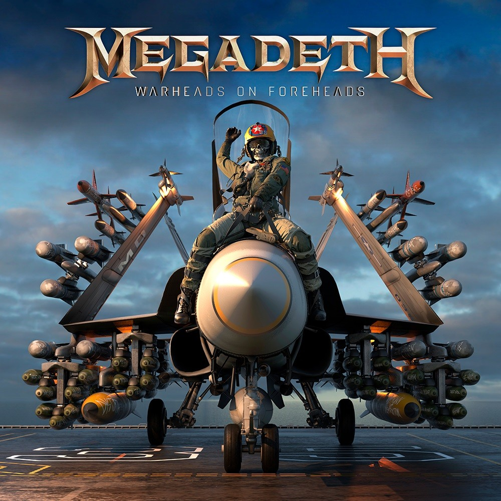 Megadeth - Warheads on Foreheads (2019) Cover