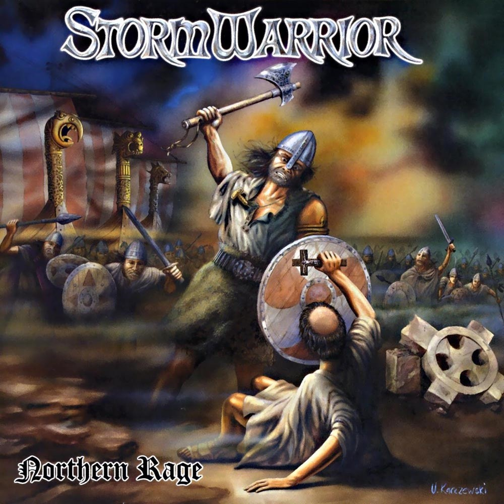 Stormwarrior - Northern Rage (2004) Cover