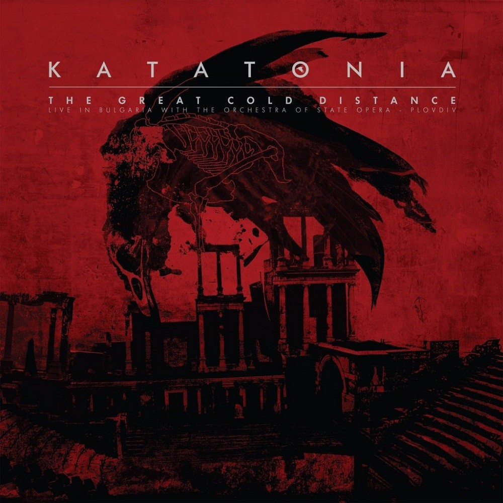 Katatonia - The Great Cold Distance: Live in Bulgaria With the Orchestra of State Opera - Plovdiv (2017) Cover