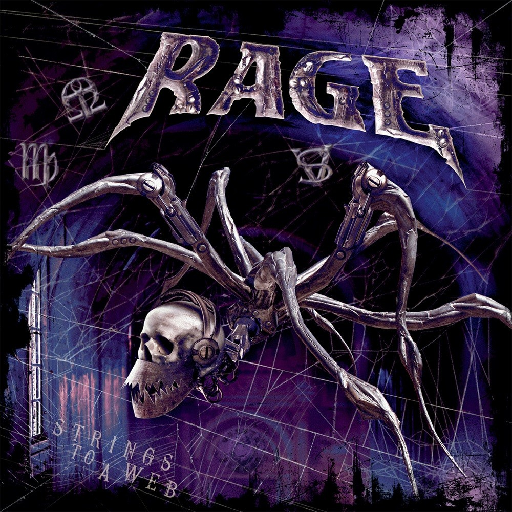 Rage - Strings to a Web (2010) Cover