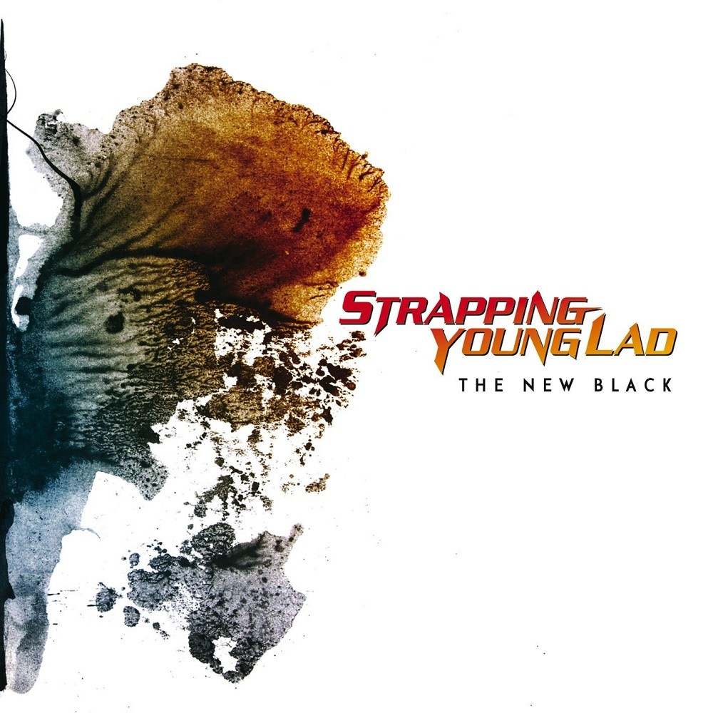 The Hall of Judgement: Strapping Young Lad - The New Black Cover