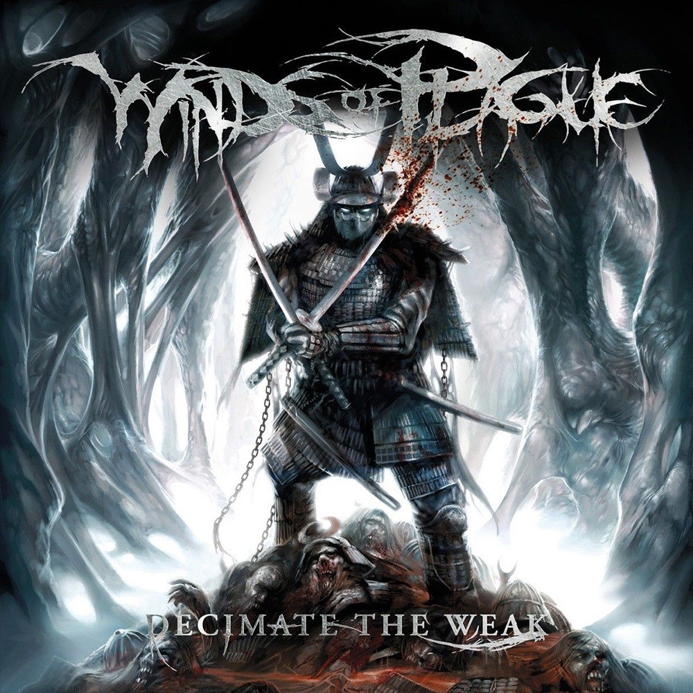 Winds of Plague - Decimate the Weak (2008) Cover