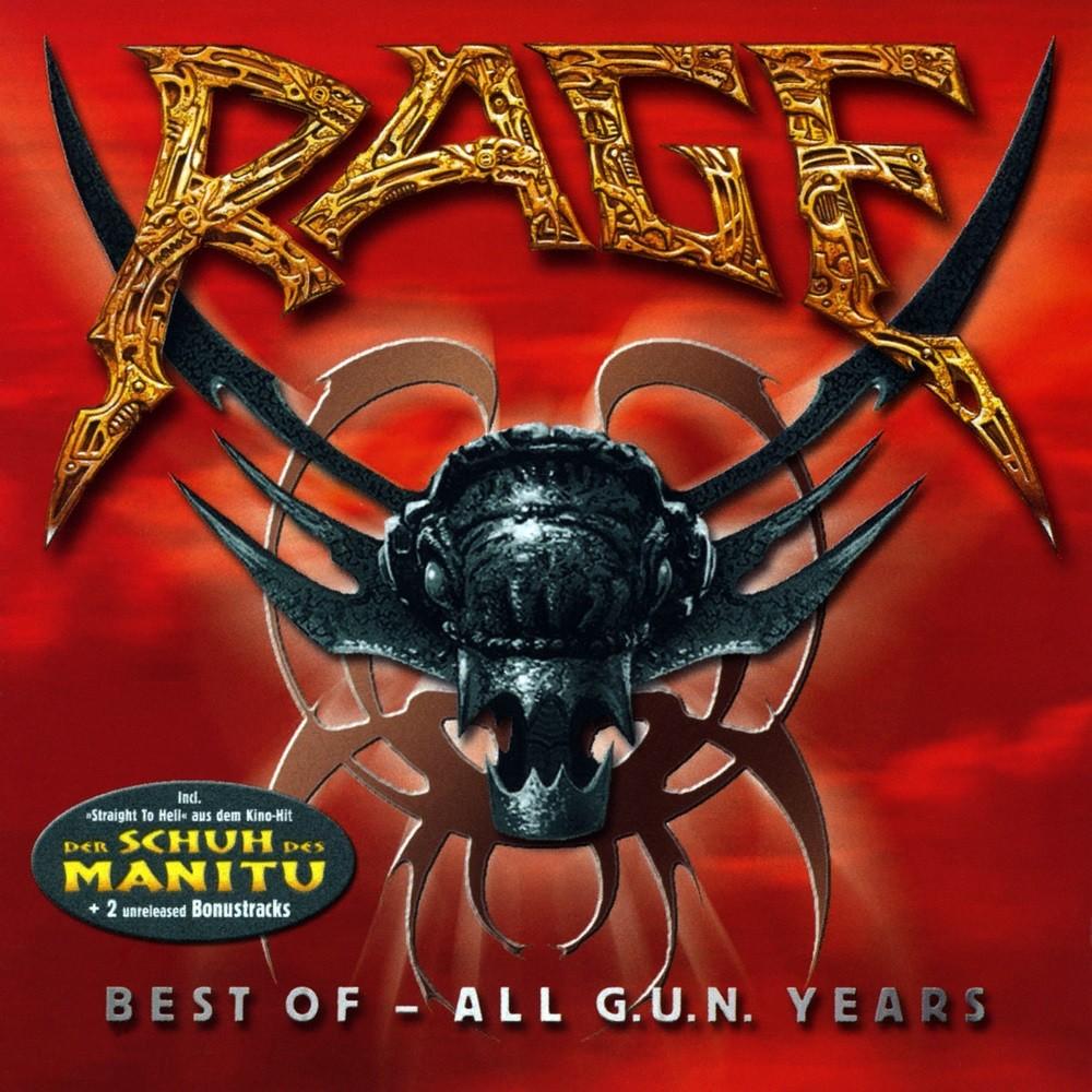 Rage - Best of - All G.U.N. Years (2001) Cover