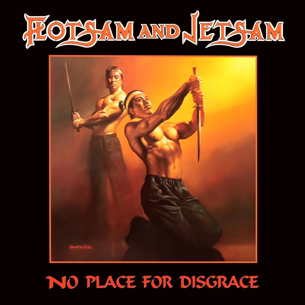 Flotsam and Jetsam - No Place for Disgrace (1988) Cover