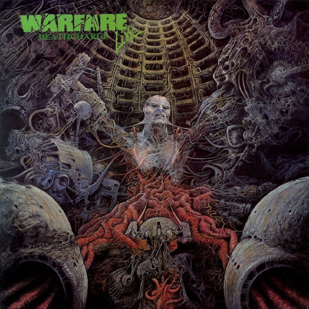Warfare - Deathcharge (1991) Cover