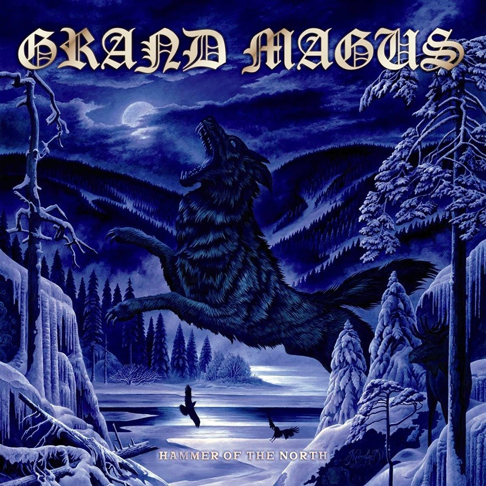 Grand Magus - Hammer of the North (2010) Cover