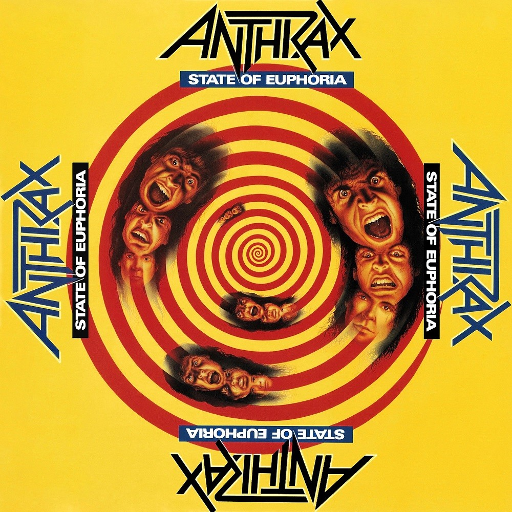 Anthrax - State of Euphoria (1988) Cover