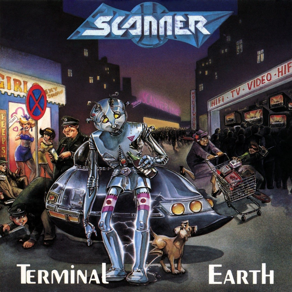 Scanner - Terminal Earth (1989) Cover