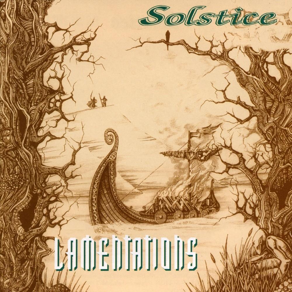 Solstice (GBR) - Lamentations (1994) Cover