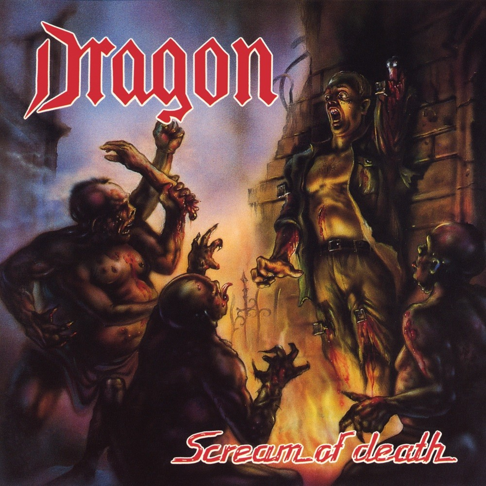 Dragon - Scream of Death (1991) Cover